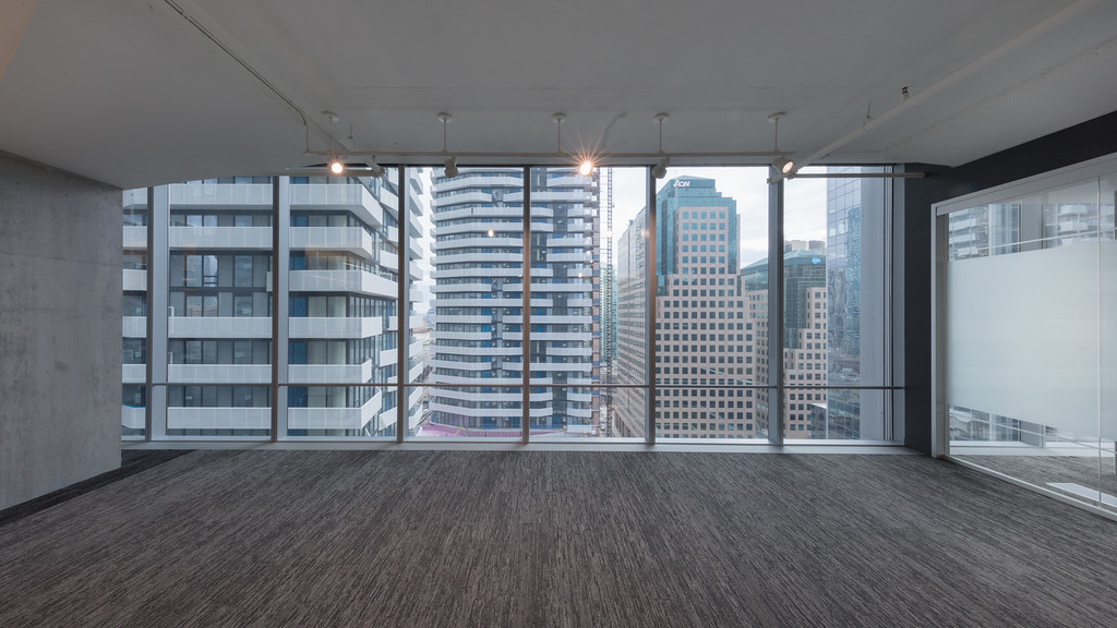 Commercial Interior West View at One York Street