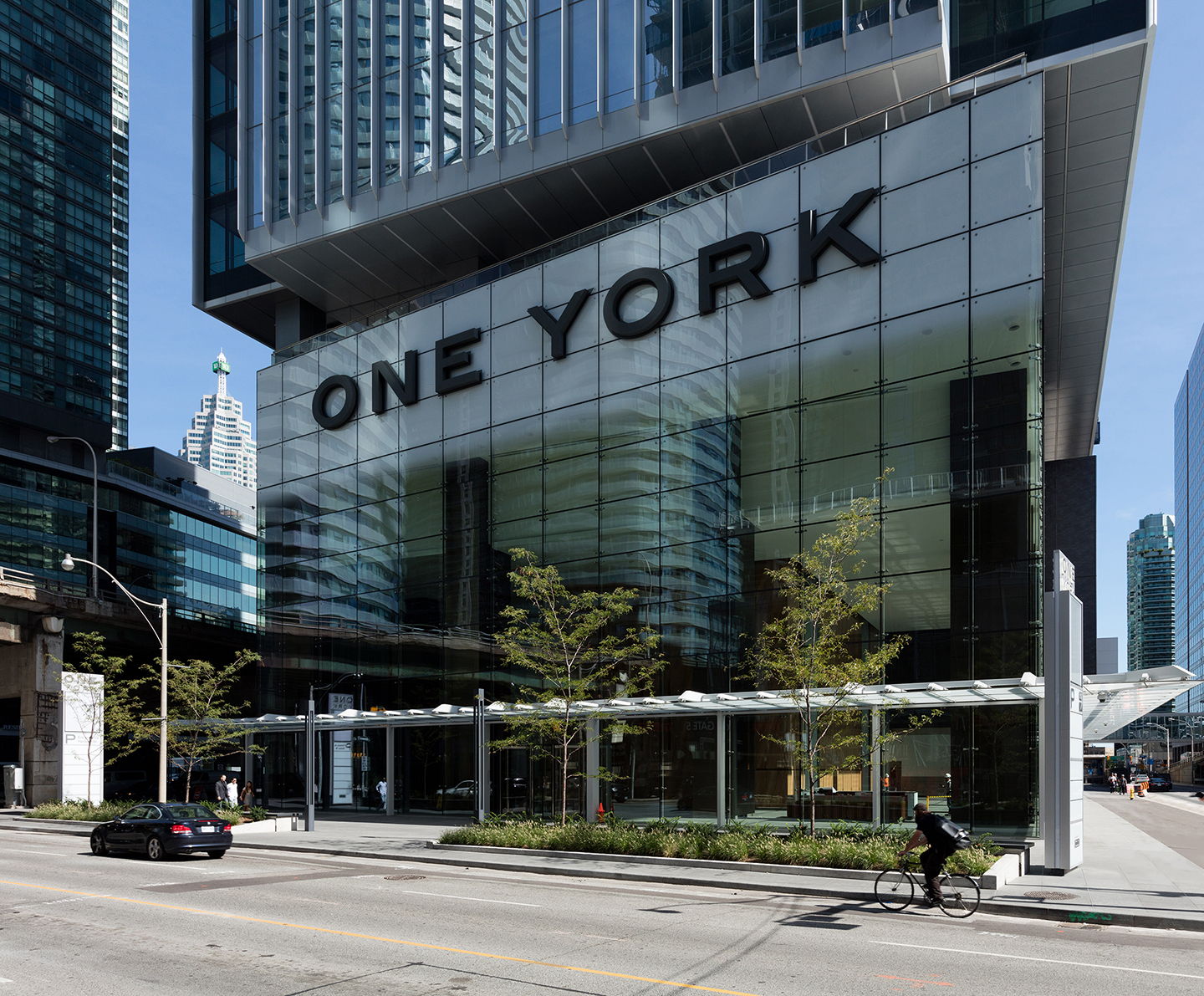 One York Street Street-level