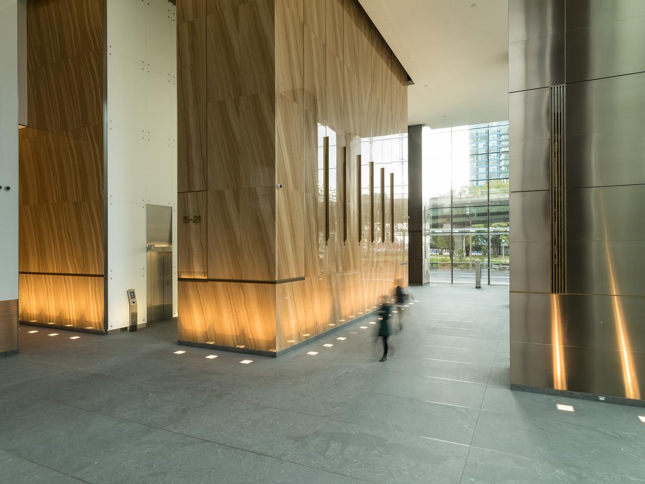 One York Street Lobby