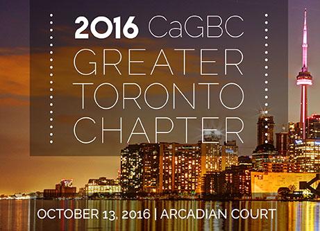 2016 CaGBC Gta Gala Banner